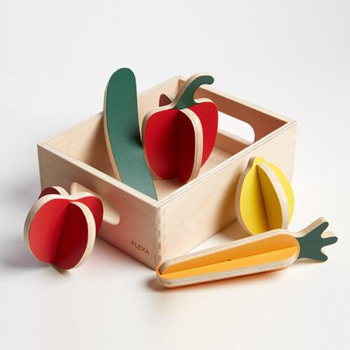 Cassetta con verdure